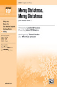 Cover icon of Merry Christmas, Merry Christmas (from Home Alone 2) sheet music for choir (2-Part) by John Williams, Leslie Bricusse, Tom Fettke and Thomas Grassi