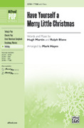 Cover icon of Have Yourself a Merry Little Christmas sheet music for choir (TTBB) by Hugh Martin, Ralph Blane and Audrey Snyder, intermediate choir (TTBB)