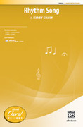 Cover icon of Rhythm Song sheet music for choir (2-Part) by Kirby Shaw, intermediate skill level