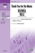 Cover icon of Thank You for the Music (from Mamma Mia!) sheet music for choir (SSAA, a cappella) by Benny Andersson, Bjorn Ulvaeus, ABBA and Kirby Shaw
