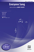 Cover icon of Everyone Sang sheet music for choir (SSA) by Andy Beck