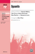 Cover icon of Dynamite sheet music for choir (SATB) by Bonnie McKee, Taio Cruz, Lukasz Gottwald, Max Martin and Benjamin Levin, intermediate choir (SATB)