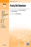 Cover icon of Frosty the Snowman sheet music for choir (2-Part) by Steve Nelson and Jack Rollins, intermediate