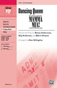 Cover icon of Dancing Queen (from Mamma Mia!) sheet music for choir and piano (SATB) by Benny Andersson