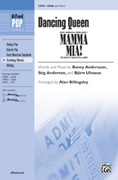 Cover icon of Dancing Queen (from Mamma Mia!) sheet music for choir and piano (SSAB) by Benny Andersson