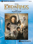 Cover icon of The Lord of the Rings sheet music for full orchestra (full score) by Howard Shore and Victor Lopez