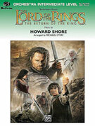 Cover icon of The Lord of the Rings sheet music for full orchestra (full score) by Howard Shore, easy/intermediate