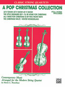 Cover icon of A Pop Christmas Collection (COMPLETE) sheet music for string quartet by Anonymous