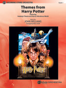 Cover icon of Harry Potter, Themes from sheet music for string orchestra (full score) by John Williams