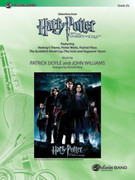 Cover icon of Harry Potter and the Goblet of Fire, Selections from sheet music for concert band (full score) by Patrick Doyle, John Williams and Michael Story