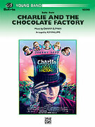 Cover icon of Charlie and the Chocolate Factory, Suite from sheet music for concert band (full score) by Danny Elfman