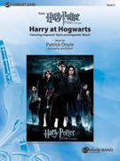 Cover icon of Harry at Hogwarts sheet music for concert band (full score) by Patrick Doyle