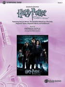 Cover icon of Harry Potter and the Goblet of Fire, Symphonic Suite from sheet music for concert band (full score) by Patrick Doyle, intermediate