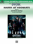 Cover icon of Harry at Hogwarts, Themes from Harry Potter and the Goblet of Fireu sheet music for string orchestra (full score) by Patrick Doyle and Bob Phillips