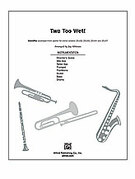 Cover icon of Two Too Wet! (COMPLETE) sheet music for Choral Pax by Bobby Darin and Jay Althouse, easy/intermediate