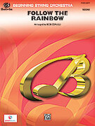 Cover icon of Follow the Rainbow sheet music for string orchestra (full score) by Arthur Hamilton