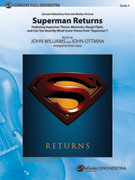 Cover icon of Superman Returns, Concert Selections from (COMPLETE) sheet music for full orchestra by John Williams, intermediate