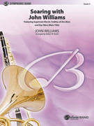 Cover icon of Soaring with John Williams sheet music for concert band (full score) by John Williams and Robert W. Smith