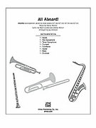 Cover icon of All Aboard! (COMPLETE) sheet music for Choral Pax by Anonymous and Jay Althouse