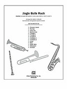 Cover icon of Jingle Bells Rock! sheet music for Choral Pax (full score) by James Pierpont
