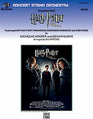 Cover icon of Harry Potter and the Order of the Phoenix, String Suite from (COMPLETE) sheet music for string orchestra by Nicholas Hooper, John Williams and Ralph Ford