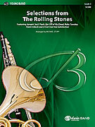 Cover icon of Selections from The Rolling Stones sheet music for concert band (full score) by The Rolling Stones and Michael Story