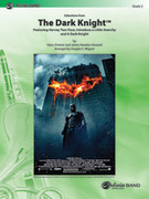 Cover icon of The Dark Knight, Selections from sheet music for concert band (full score) by Hans Zimmer, James Newton Howard and Douglas E. Wagner
