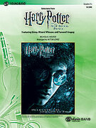Cover icon of Harry Potter and the Half-Blood Prince, Selections from sheet music for concert band (full score) by Nicholas Hooper and Victor Lopez