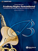 Cover icon of Academy Nights Remembered sheet music for concert band (full score) by Diane Warren and Patrick Roszell, easy/intermediate