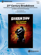Cover icon of 21st Century Breakdown, Suite from Green Day's sheet music for concert band (full score) by Green Day and Justin Williams