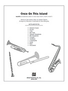 Cover icon of Once on This Island: A Choral Medley (COMPLETE) sheet music for Choral Pax by Anonymous and Andy Beck
