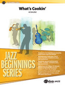 Cover icon of What's Cookin' sheet music for jazz band (full score) by Victor Lopez and Victor Lopez, beginner