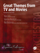 Cover icon of Great Themes from TV and Movies sheet music for string orchestra (full score) by Neal Hefti, David Mook, Ben Raleigh, Joseph Barbera, William Hanna and Hoyt Curtin, beginner orchestra