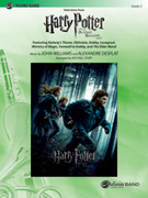 Cover icon of Harry Potter and the Deathly Hallows, Part 1, Selections from sheet music for concert band (full score) by Alexandre Desplat and Michael Story