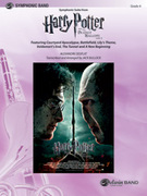 Cover icon of Harry Potter and the Deathly Hallows, Part 2, Symphonic Suite from sheet music for concert band (full score) by Alexandre Desplat, intermediate