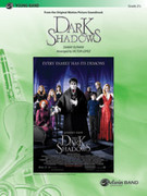 Cover icon of Dark Shadows sheet music for concert band (full score) by Danny Elfman and Victor Lopez