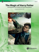 Cover icon of The Magic of Harry Potter (COMPLETE) sheet music for concert band by Anonymous and Michael Story, easy