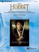 Cover icon of The Hobbit sheet music for concert band (full score) by Howard Shore and Douglas E. Wagner, easy/intermediate skill level