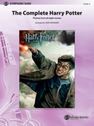 Cover icon of The Complete Harry Potter (COMPLETE) sheet music for concert band by Anonymous and Jerry Brubaker