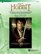 Cover icon of The Hobbit: An Unexpected Journey, Selections from (COMPLETE) sheet music for concert band by Howard Shore and Michael Story, easy concert band