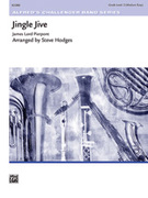 Cover icon of Jingle Jive sheet music for concert band (full score) by James Pierpont