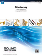 Cover icon of Ode to Joy sheet music for concert band (full score) by Ludwig van Beethoven, classical score, beginner skill level