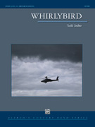 Cover icon of Whirlybird sheet music for concert band (full score) by Todd Stalter