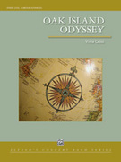 Cover icon of Oak Island Odyssey (COMPLETE) sheet music for concert band by Vince Gassi