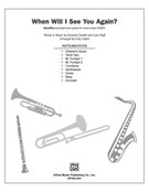 Cover icon of When Will I See You Again (COMPLETE) sheet music for Choral Pax by Kenneth Gamble and Greg Gilpin, easy/intermediate