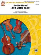 Cover icon of Robin Hood and Little John sheet music for string orchestra (full score) by Anonymous