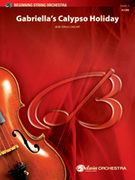 Cover icon of Gabriella's Calypso Holiday sheet music for string orchestra (full score) by Bob Cerulli