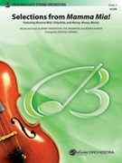 Cover icon of Mamma Mia!, Selections from sheet music for string orchestra (full score) by Benny Andersson, ABBA and Michael Hopkins, easy/intermediate skill level