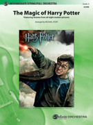 Cover icon of The Magic of Harry Potter (COMPLETE) sheet music for full orchestra by Anonymous and Michael Story
