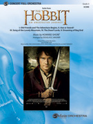 Cover icon of The Hobbit sheet music for full orchestra (full score) by Howard Shore and Douglas E. Wagner